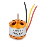 A2212 2700KV Brushless Motor Set for R/C Toy - Golden + Silver