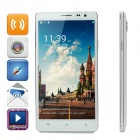 "V3 Android 4.4.2 Quad-core WCDMA Phone w/ 5.5"" IPS, 4GB ROM, Wi-Fi, GPS, BT - White"
