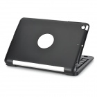 Bluetooth v3.0 teclado 59-Key Stand Case para iPad Mini 3 - preto