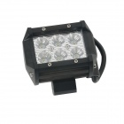 18W Type / C Flood 6000K 1260lm White Light 6-LED dobbel-line Work Light Bar for bil / båt