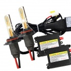 Merdia 9006 55W 4300K 2800lm Yellow HID Xenon Lights w/ Ballasts Kit (AC 9~16V)