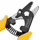Lodestar L215326 Plastic + Chromium Alloy 3-Section Optical Fiber Stripper - Black + Silver