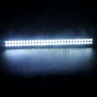 180W 6000K 12600lm flekke + flom bjelke hvit lyse 60-LED dobbel-Linje Work Light Bar for bil / båt
