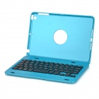 Portable Bluetooth v3.0 59-Key Keyboard Case w/ Stand for IPAD MINI 3 - Blue