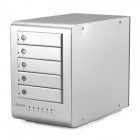 "MAIWO K5FU3EFW Aluminum Alloy USB 3.0 to 2.5""/3.5"" SATA External Hard Drive Enclosure Support RAID"