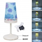 Creative DIY 5W 6500K Cool White Manual Changeable Energy-saving Cup Lamp (US Plug)