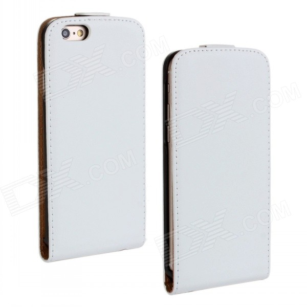 все цены на WB-55PL Business Style Protective Top Flip-Open Case for IPHONE 6 PLUS - White онлайн
