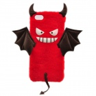 High Quality Cute Bat Style Protective PC Back Case for IPHONE 6 - Red + White + Black