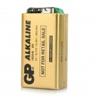 GP 1604A Non-rechargeable 6LF22 9V Alkaline Batteries - Gold + Black (10 PCS)