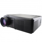 "MO.MAT G700 1080P Full HD 30""~320"" LED Projector w/ HDMI / VGA / YPbPr / S-VIDEO / TV / USB - Black"