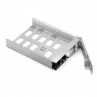"MAIWO K5FU3 Aluminum Alloy USB3.0 to 2.5"" / 3.5"" SATA External Hard Drive Enclosure - Silver"