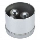 25MM Buzzing Magnets Toys Set - Silver Black (4 PCS)