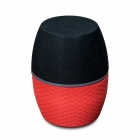 CKY RC201A Portable Wireless Bluetooth v3.0 Speaker - Red + Black