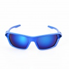 Fashionable Blue REVO UV400 Sunglasses - Blue