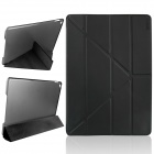 ENKAY Multi-folding Auto Sleep & Wake Up Designed Protective Case w/ Stand for IPAD AIR 2 - Black