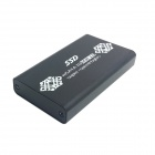CY U3-179-BK 50mm Mini PCI-E mSATA 6Gbps Solid State SSD to USB 3.0 Hard Disk Enclosure - Black