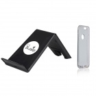 "AOLUGUYA QI Wireless Charger w/ Receiver Module Case for IPHONE 6 4.7"" - Black + White"