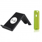 "AOLUGUYA QI Wireless Charger w/ Receiver Module Case for IPHONE 6 4.7"" - Black + Green"