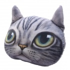 NEJE FJ0002-1 Cartoon 3D Cat Style Plush Pillow / Cushion - Gray + Multicolor