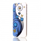 "Floral & Plants Pattern Protective TPU Back Case Cover for IPHONE 6 4.7"" - White + Blue + Multicolor"