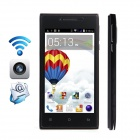 "CUBOT GT72+ Dual-Core Android 4.4 WCDMA Bar Phone w/ 4.0"" IPS, Wi-Fi, 4GB ROM - Black"