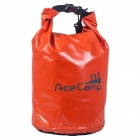 Acecamp 2460 Outdoor Camping Waterproof Dry Bag w/ Shoulder Strap Orange (47x21cm / 10L)