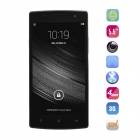 "No.1 Plus Quad-Core Android 4.4.2 WCDMA Bar Phone w/ 5.5"" IPS HD, 8GB ROM, OTG, GPS - Black + White"