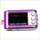 Mini MP3 Player with OLED Screen 256MB Purple