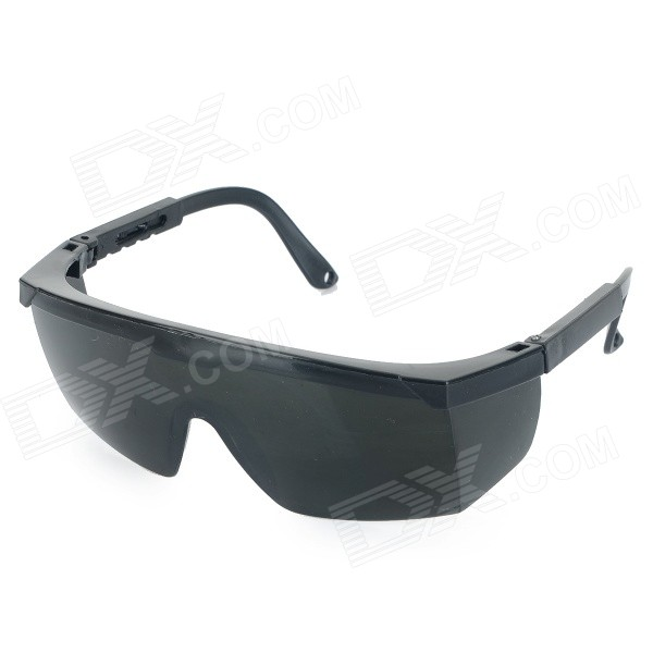 Professional Safety Protection Goggles for Electric Welding - Black + Grey