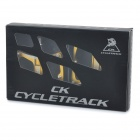 CYCLETRACK CK018 Replacement Magnesium Alloy Bicycle Pedal - Gold (Pair)