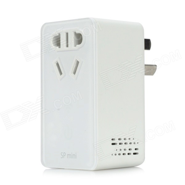 BroadLink SP Mini Wi-Fi Remote Control Smart Socket w/ 3-Flat-Pin Plug for IPHONE / Android Phones