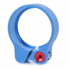 AEST YPU09A-08 31.8mm Ultra-Light Aluminum Alloy Bicycle Seat Post Clamp - Blue