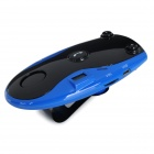 Car Vehicle Bluetooth V4.0 Speaker w/ Hands-free Calls & FM Transmitter - Black + Blue
