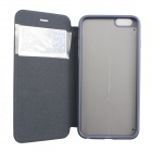 "Ultra-thin Flip-open Case w/ Stand / Display Window for IPHONE 6 PLUS 5.5"" - Deep Blue"