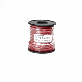 1.5mm² Car CD Player / ACC Host / Player / Power Amplifier REM Copper Control Cable - Red (10m)