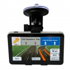 "5"" TFT MTK MS2531 800MHz Car GPS Navigator w/ FM / 4GB ROM for Brazil / Argentina - Black"