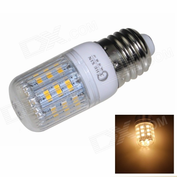 CXHEXIN E27CX24-5630 E27 5W 400lm 3000K 24-SMD 5630 LED Warm White Corn Lamp - White (AC 85~265V) cxhexin e14cx24 5630 e14 5w 3000k 400lm 24 5630 smd led warm white light bulb white ac 85 265v