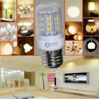 CXHEXIN E27CX24-5630 E27 5W 400lm 3000K 24-SMD 5630 LED Warm White Corn Lamp - White (AC 85~265V)