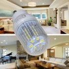 CXHEXIN GU10 5W 400lm 24-SMD 5630 LED Cold White Corn Lamp (85~265V)