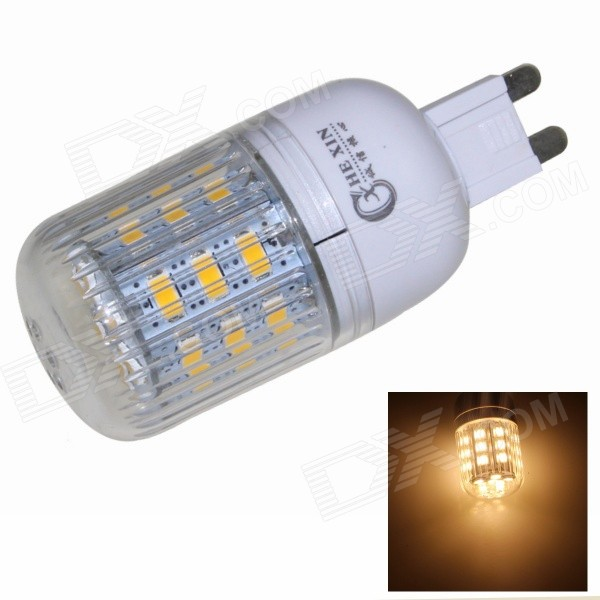 CXHEXIN G9CX24-5630 G9 5W 3000K 400lm 24-5630 SMD LED Warm White Light Bulb - White (AC 85~265V) cxhexin e14cx24 5630 e14 5w 3000k 400lm 24 5630 smd led warm white light bulb white ac 85 265v