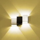 BD01 Modern 3W 180lm 2800K Warm White 2-LED Up Down Spot Light Sconce Wall Lamp (AC 85~265V)