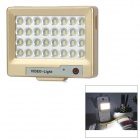 S60 1.2W 5600K White Light 32-LED Video Fill Light / Supplement Lamp for Mobile Phones - Golden