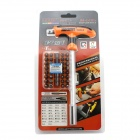JAKEMY JM-6105 34-in-1 Car Repairing T Type Handle Screwdriver Tools Set - Black + Orange + Silver