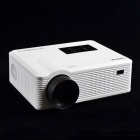 CHEERLUX CL740WT LCD Home Theater Projector w/ LED, Analog TV, VGA, YPbPr, HDMI, US Plug - White