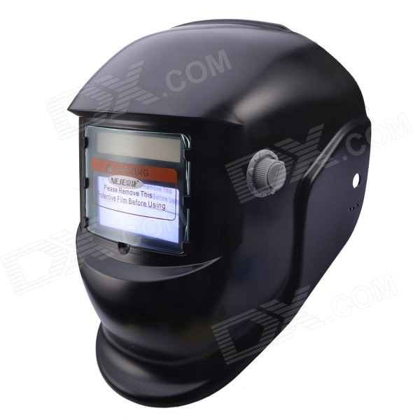 NEJE Solar Auto Darkening UV/IR Protection Welding Helmet Goggles - Black