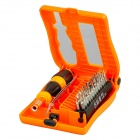 Buy JAKEMY JM-8103 28-in-1 Digital Device Repairing Screwdriver Tools Set - Orange + Black Silver