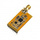 Low Power sx1212 Embedded Data Radio Modem RF Transceiver Module - Orange + Gold
