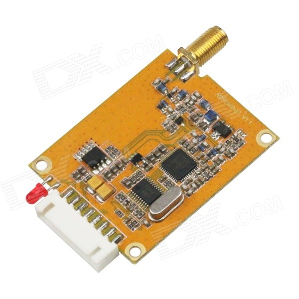 433MHz 500mW Wireless Transceiver Module w/ RS485/TTL Interface - Orange rs485 to ttl communication module 3 3v