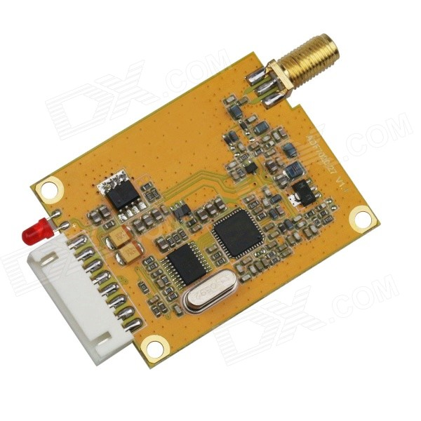 433MHz 500mW High Power Transceiver Module w/ RS232/TTL Interface - Orange narrow band 470m rs232 2w antenna with hpd8507e 470 rs232 wireless transceiver module