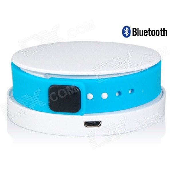 I7 Waterproof Bluetooth V4.0 Smart Wristband Bracelet w/ Activity Tracking / Charger - Blue